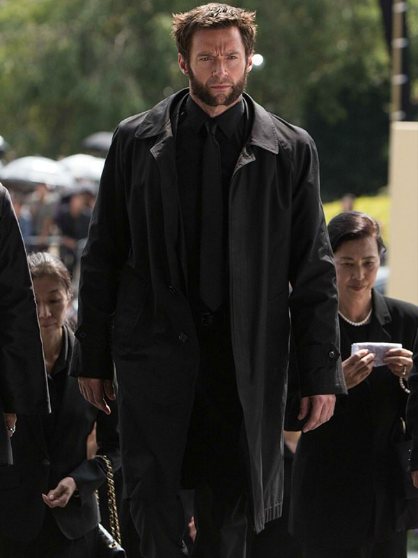 Logan The Wolverine Hugh Jackman Trench Coat
