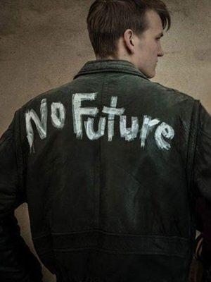 Ulrich Nielsen TV Series Dark Ludger Bökelmann Black Leather Jacket
