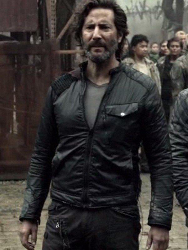 Henry Ian Cusick The 100 Marcus Kane Leather Jacket