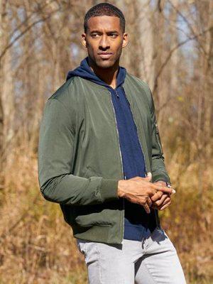 The Bachelor S25 Matt James Green Bomber Jacket