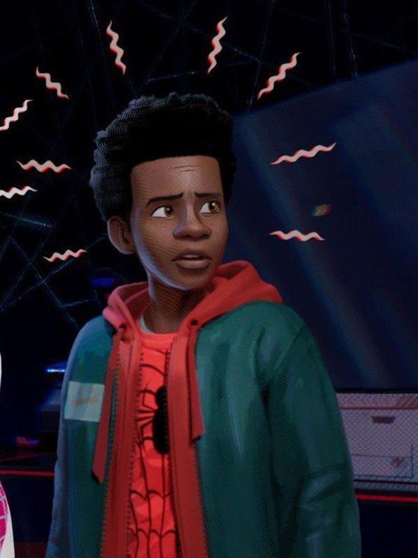Miles Morales Spider Man Into the Spider Verse Jacket