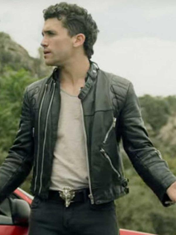 Jaime Lorente Biker Jacket