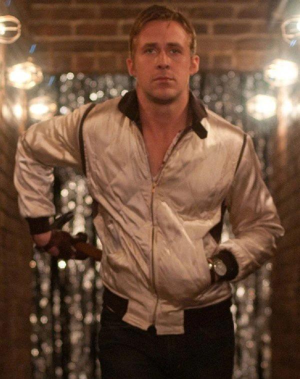 Scorpion Drive Ryan Gosling Polyester Bomber Jacket
