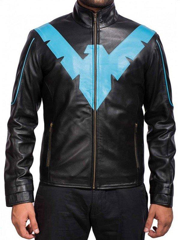 Scott Porter Batman Arkham Knight 2015 Black Leather Jacket