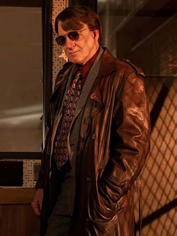 Only Murders in the Building Charles-Haden Savage Brown Coat