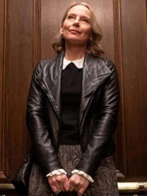 Amy Ryan Leather Jacket