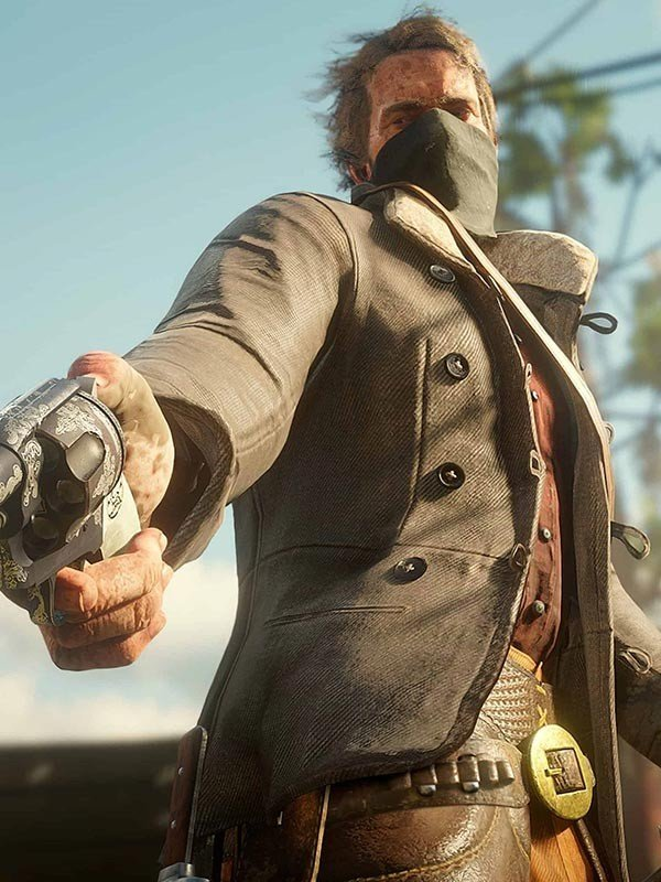 Red Dead Redemption Video Game Scout Corduroy Jacket