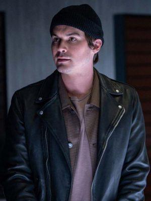 Roswell, New Mexico S03 Tyler Blackburn Black Leather Jacket