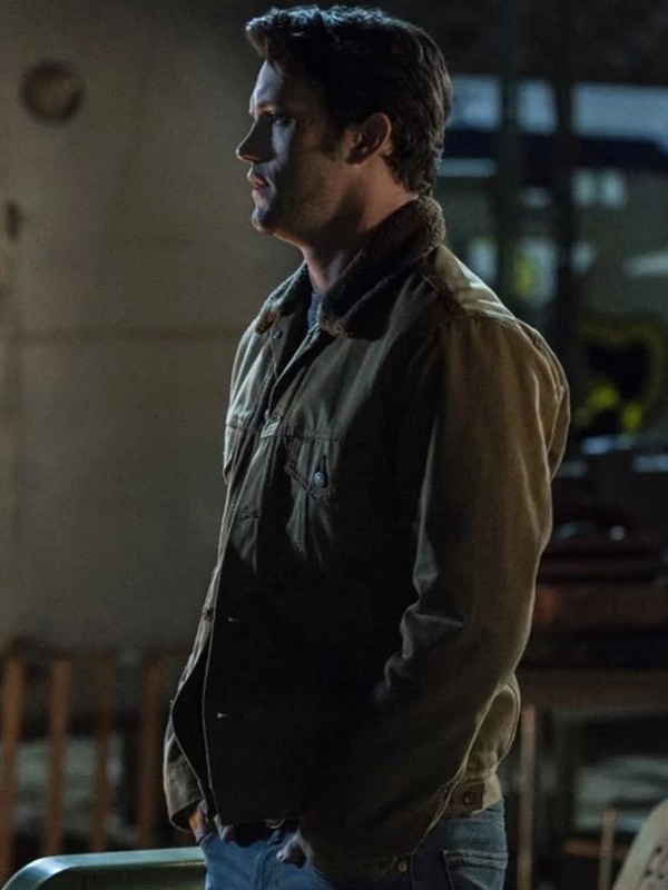 Nathan Parsons Roswell, New Mexico Max Evans Cotton Jacket