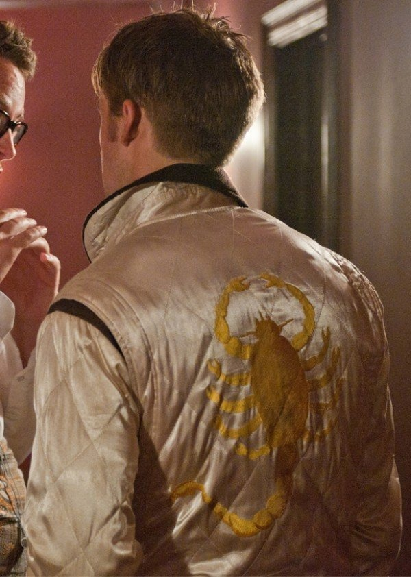 Scorpion Drive Ryan Gosling Bomber Jacket