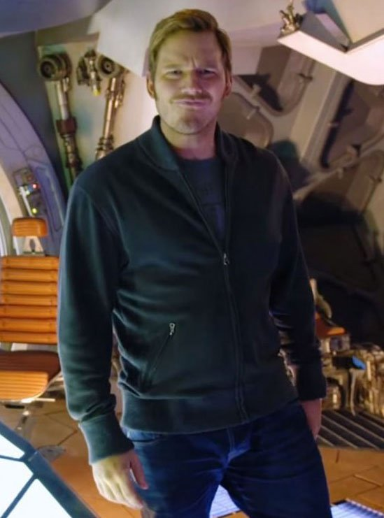 Chris Pratt Guardians of the Galaxy Vol 2 Star Lord Jacket