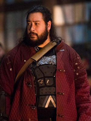 Cooper Andrews The Walking Dead Jerry Red Cotton Jacket