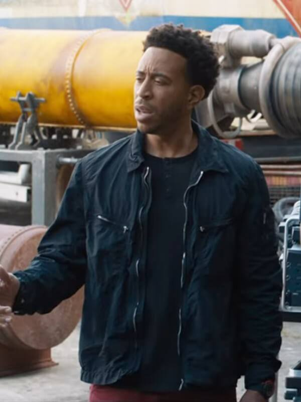 Tej Parker Fast And Furious 9 Ludacris Cotton Black Jacket