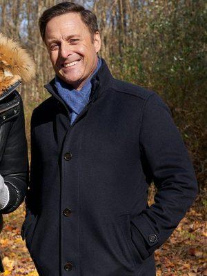 Chris Harrison TV Series The Bachelor Black Wool Jacket