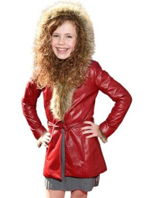 The Christmas Chronicles 2 Darby Camp Red Hooded Coat
