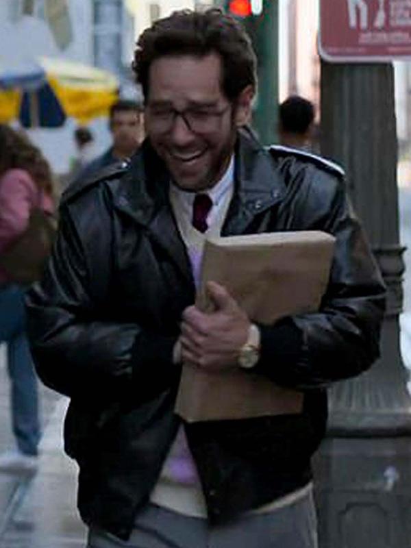 The Shrink Next Door 2021 Dr. Isaac Herschkopf Black Leather Jacket