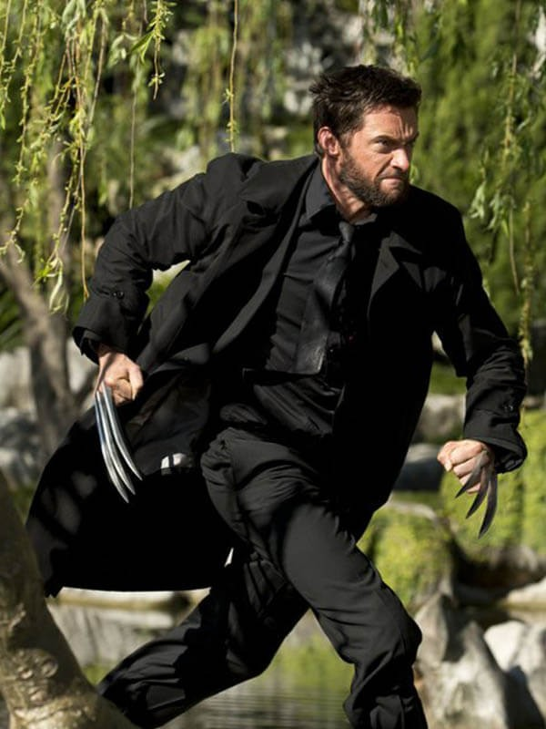 The Wolverine 2013 Logan Black Trench Coat