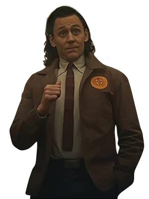 Tom Hiddleston Loki Variant Brown Cotton Jacket