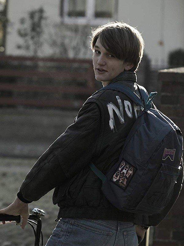 Ludger Bökelmann Dark Ulrich Nielsen Black Leather Jacket