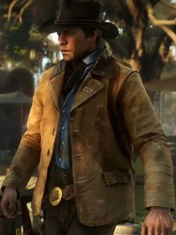 Arthur Morgan Video Game Red Dead Redemption 2 Leather Jacket