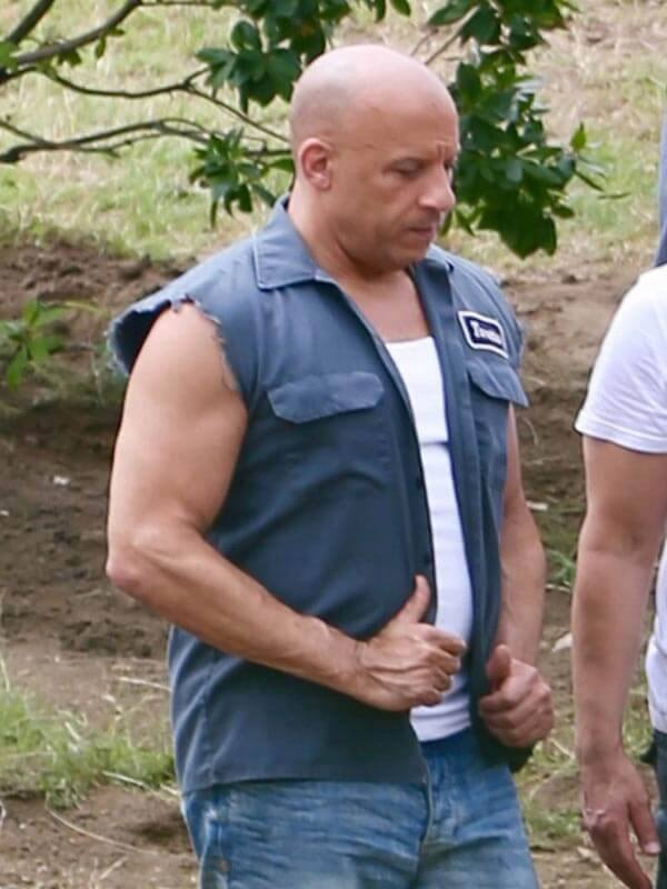 Dominic Toretto Fast and Furious 9 2021 Vin Diesel Cotton Vest