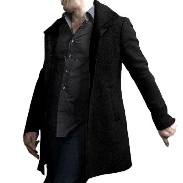 Film series The Last Witch Hunter Vin Diesel Black Wool Coat