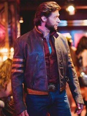 Hugh Jackman X-Men Wolverine Leather Jacket