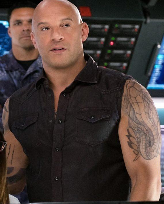 Vin Diesel XXX Return of Xander Cage 2017 Black Cotton Vest