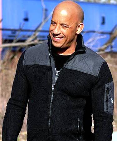 Vin Diesel XXX Return of Xander Cage Black and Gray Cotton Jacket