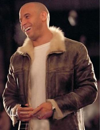 Vin Diesel XXX Return of Xander Cage Shearling Leather Jacket