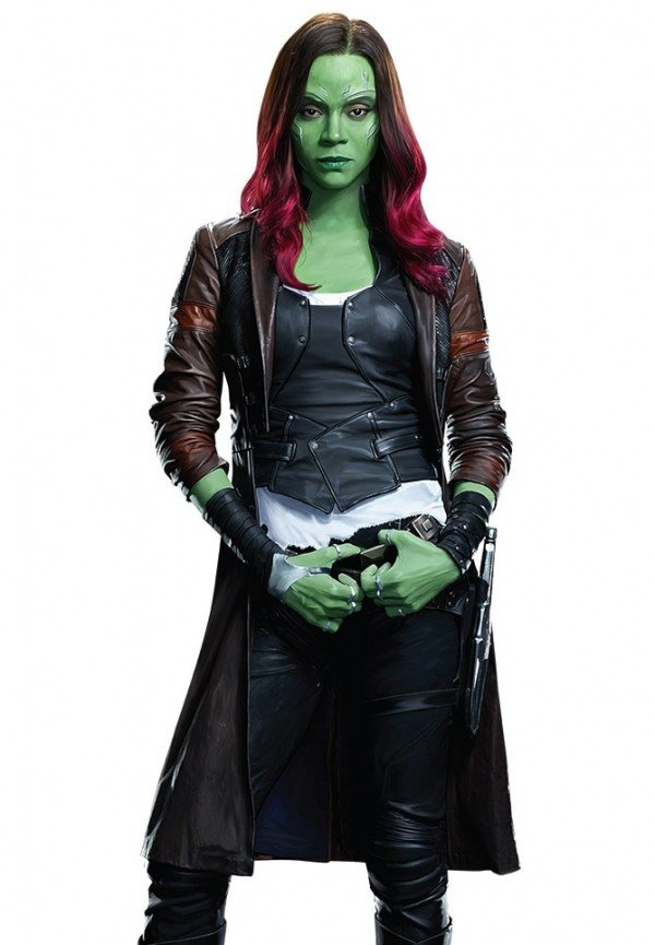 Gamora Guardians of the Galaxy Volume 2 Trench Coat