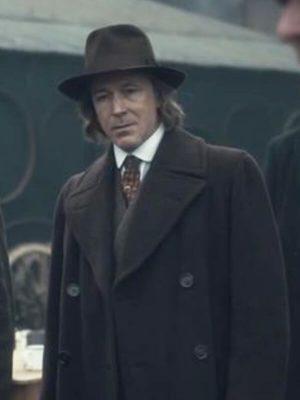 Aberama Gold TV Series Peaky Blinders Aidan Gillen Wool Trench Coat