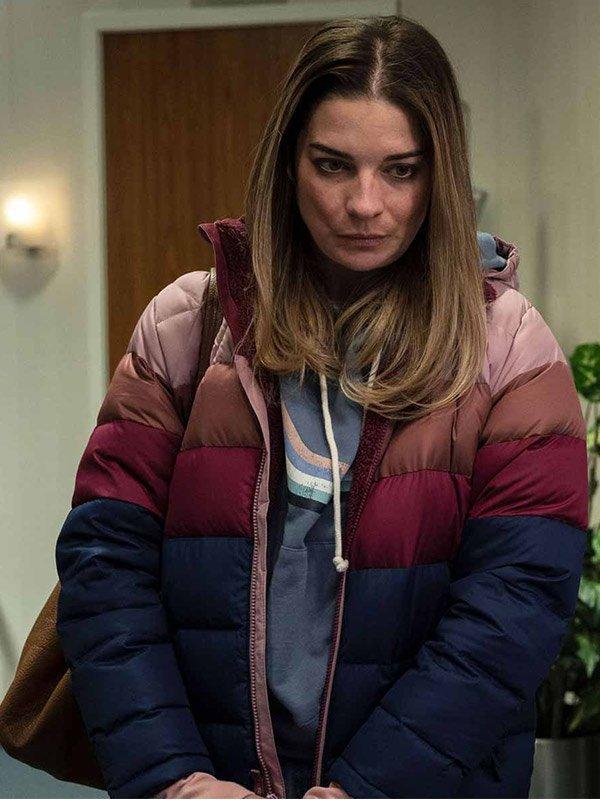 Annie Murphy Kevin Can Fk Himself Allison Puffer Jacket