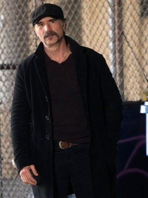Alvin Olinsky TV Series Chicago PD Elias Koteas Black Wool Blazer Jacket