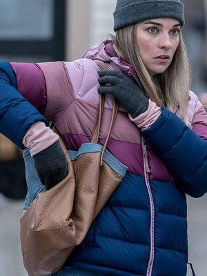 Allison Kevin Can F**k Himself Annie Murphy Puffer Jacket
