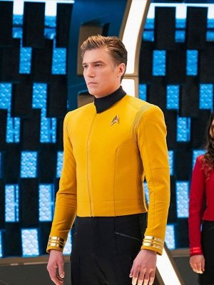 Anson Mount TV Series Star Trek Discovery Captain Pike Jacket