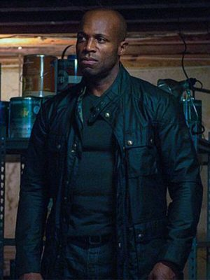Archer Petit TV Series Hostages Billy Brown Leather Jacket