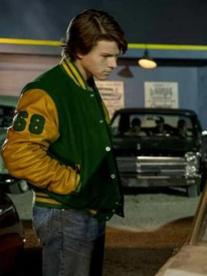 Tommy Milner Scary Stories to Tell in The Dark Austin Abrams Wool Jacket