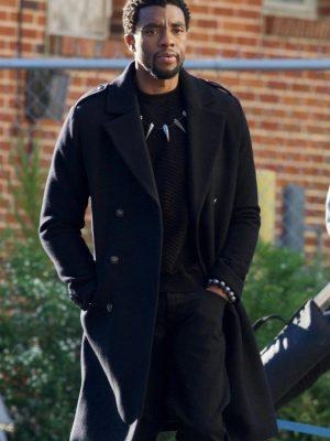 Chadwick Boseman Avengers Infinity War Black Panther Wool Coat