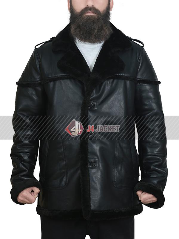 Billy Russo The Punisher Season 2 Ben Barnes Shearling Jacket
