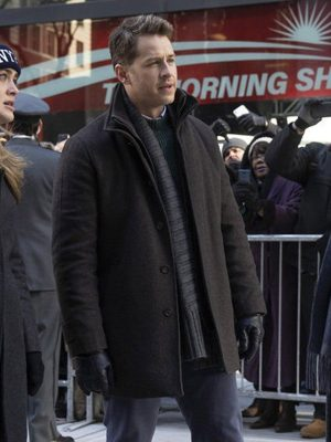 Ben Stone Manifest Josh Dallas Black Wool Jacket