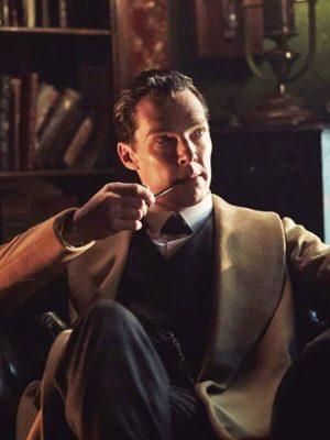 Tv Series Sherlock Holmes Benedict Cumberbatch Brown Wool Coat
