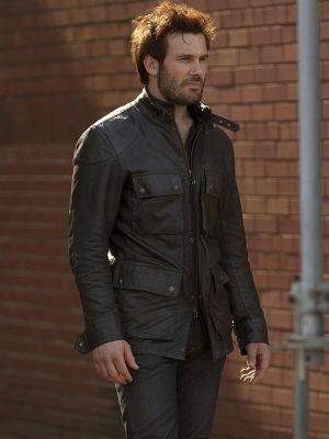 Clive Standen TV Series Taken Bryan Mills Leather Jacket