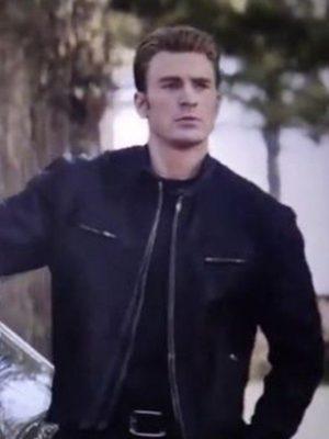 Chris Evans Avengers Endgame 2019 Captain America Jacket