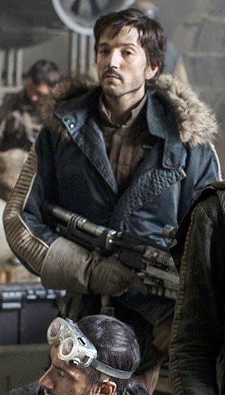 Rogue One A Star Wars Story Captain Cassian Andor Parka Jacket
