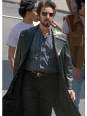 Carlito Brigante Carlito's Way Movie Al Pacino Black Leather Coat