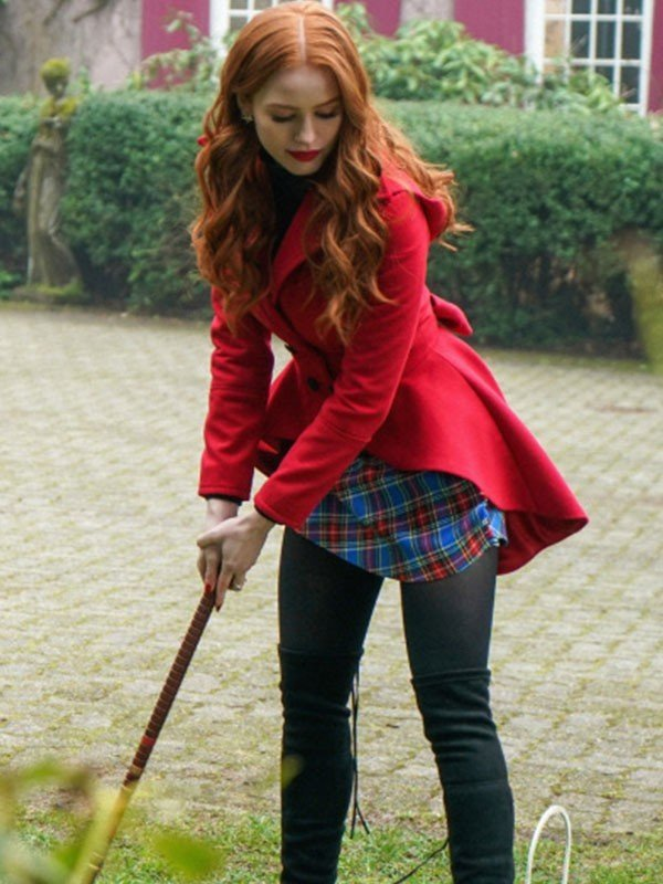 Cheryl Blossom Tv Series Riverdale Red Hooded Jacket