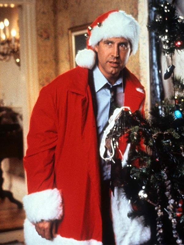 National Lampoon's Christmas Vacation Chevy Chase Costume Wool Coat