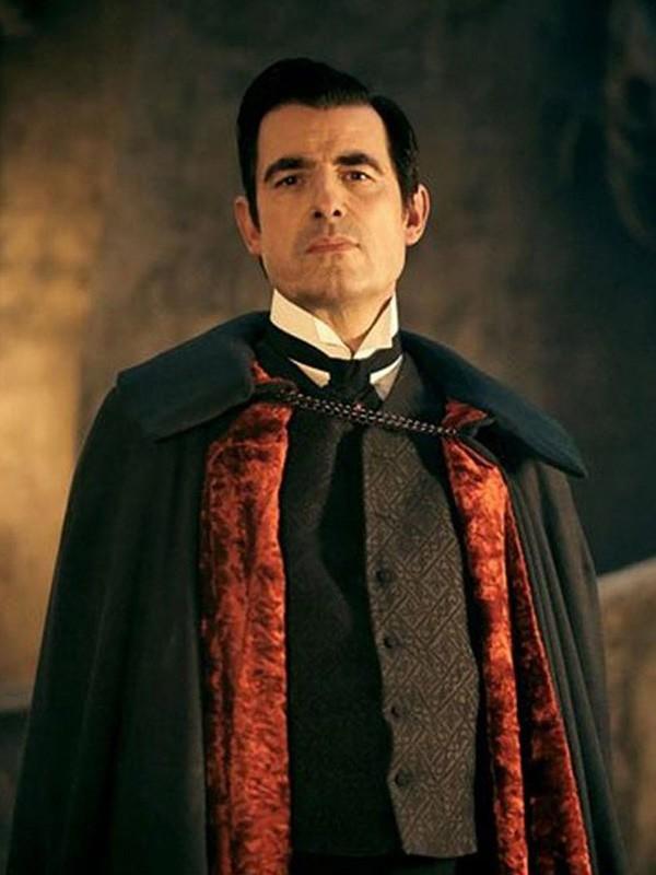 TV Series Dracula Claes Bang Black Wool Coat