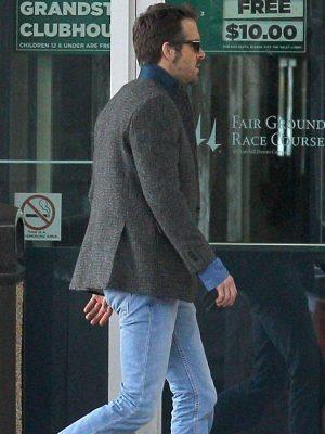 Curtis Mississippi Grind Ryan Reynolds Tweed Coat
